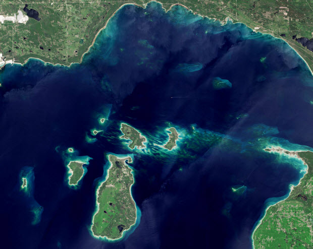 Beaver Island Photo From NASA