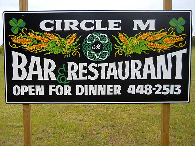 Circle-M-Bar-&-Restaurant-Sign