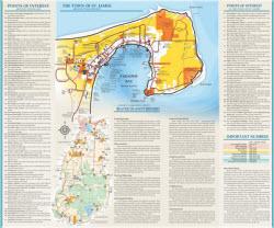 Beaver Island Map Back