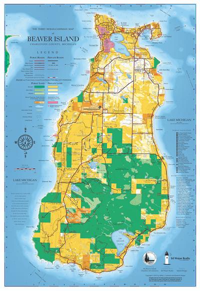 Beaver Island Map