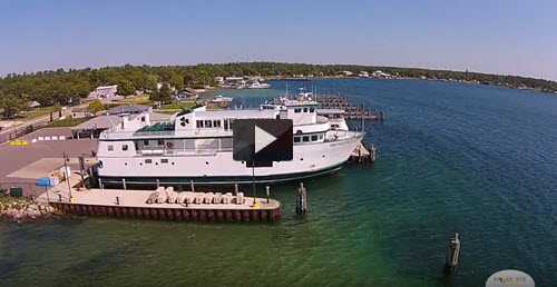 Drone Tour of Beaver Island