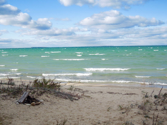 Play Outside -Lake Michigan beachfront