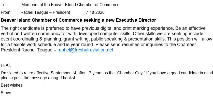 Chamber News 7-18-18