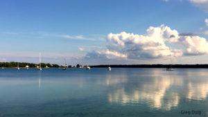 Photo of Paradise Bay harbor Beaver Island