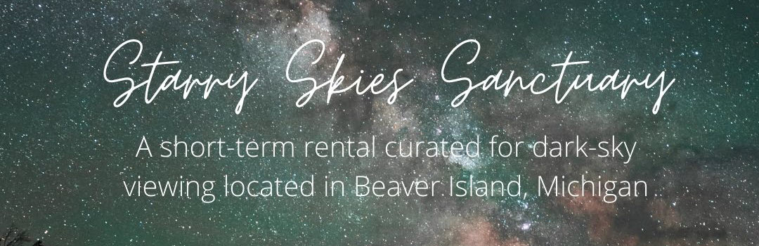 Starry skies sanctuary banner